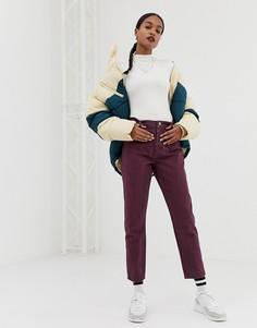 Джинсы в полоску в винтажном стиле с декоративными швами ASOS DESIGN Ritson - Мульти