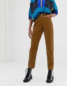 Вельветовые джинсы в винтажном стиле ASOS DESIGN - Оранжевый