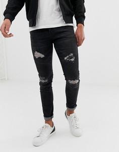 Черные джинсы скинни Loyalty and Faith - Черный