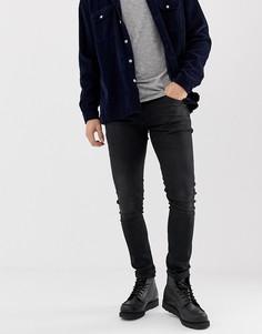 Черные прямые джинсы Nudie Jeans Co Tight Terry - Черный