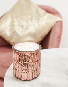 Свеча цвета розового золота Candlelight - Золотой