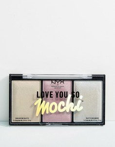 Палитра хайлайтеров NYX Professional Makeup Love You So Mochi - Мульти