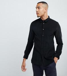 Вельветовая рубашка Another Influence TALL - Черный
