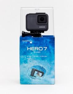Серебристая экшн-камера GoPro HERO7 - Мульти