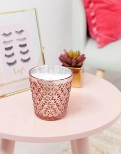Свеча цвета розового золота Candlelight - Розовый