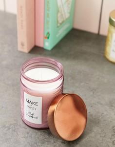 Свеча Candlelight pink grapefruit make a wish - Розовый