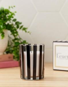 Свеча с ароматом пиона и розового вина Candlelight - Черный