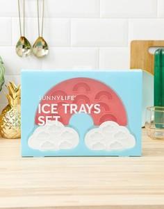 Лоток для льда в виде облака и радуги Sunnylife - Красный