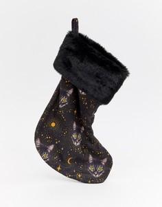 Новогодние носки с котами Monki - Мульти