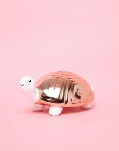 Копилка-черепаха с отделкой металлик New Look - Розовый