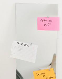 Зеркальная доска для записей с ручкой SIL - Очистить