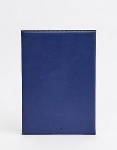 Кожаный чехол для Ipad Аir 2 Knomo London Рremium - Синий