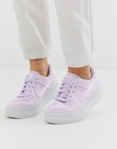 Сиреневые кроссовки Nike Ice Air Force 1 Sage - Фиолетовый