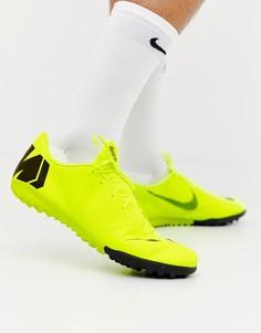 Зеленые кроссовки Nike Football Vapor X 12 Academy Astro Turf AH7384-701 - Зеленый