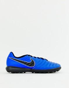 Синие кроссовки Nike Football Legend X 7 Pro Astro Turf AH7249-400 - Синий