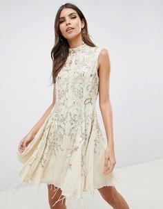 Платье мини ASOS DESIGN - Розовый