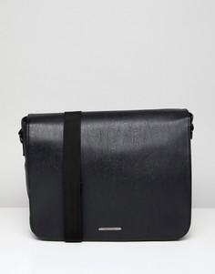 Черная сумка-сэтчел River Island - Черный
