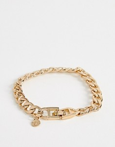 Золотистый массивный браслет-цепочка Chained & Able - Золотой
