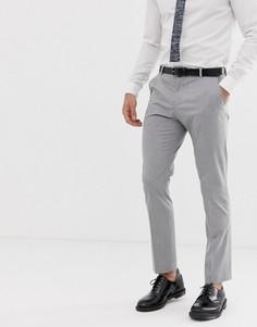 Эластичные облегающие брюки Selected Homme - Серый