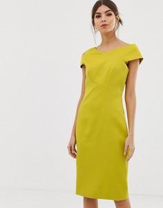 Облегающее платье Ted Baker Aspyn - Желтый