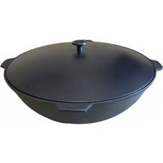 Казан с крышкой 12 л Камская Посуда (К121)