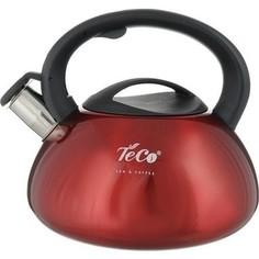 Чайник 3.0 л со свистком Teco (TC-102-R)