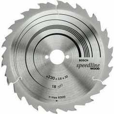 Диск пильный Bosch 190х30мм 24зуба Speedline Wood (2.608.640.801)
