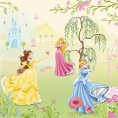 Фотообои Disney Edition 1 Princess Garden 184 х 127см.