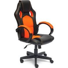 Кресло офисное TetChair RACER GT36-6/07 черный/оранжевый