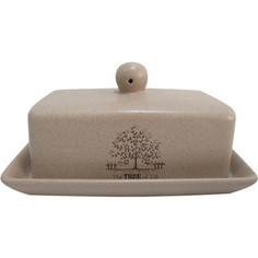 Масленка с крышкой Terracotta Дерево жизни (TLY288-TL-AL)