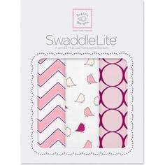 Набор пеленок SwaddleDesigns Наборы пеленок SwaddleLite Chic Chevron Lite Pink (SD-360P)