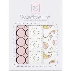 Набор пеленок SwaddleDesigns SwaddleLite Modern Pink (SD-445P)