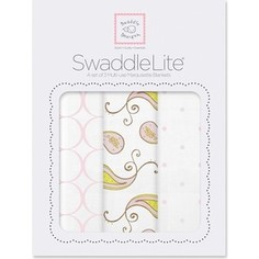 Набор пеленок SwaddleDesigns SwaddleLite Paisley Pink (SD-444P)