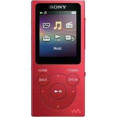 MP3 плеер Sony NW-E394 red