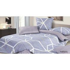 Комплект постельного белья Ecotex Евро, сатин, Умберто (КГЕУмберто)