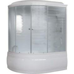 Душевая кабина Royal Bath 150х100х225 стекло шиншилла правая (RB150ALP-C-R)