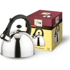 Чайник 3.0 л со свистком Teco (TC-118)
