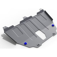 Защита картера и КПП Rival для Jeep Renegade 4WD (2015-н.в.), алюминий 4 мм, 333.2736.1