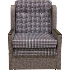 Кресло кровать Шарм-Дизайн Классика Д велюр серый