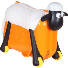Каталка чемодан SAIPO овечка, оранжевый sc0015