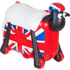Каталка чемодан SAIPO овечка, британский флаг sc0022