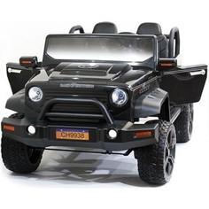 Детский электромобиль Chenghao Jeep Hunter Black с полным приводом - CH9938
