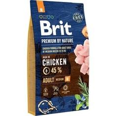 Сухой корм Brit Premium by Nature Adult M Hight in Chicken с курицей для взрослых собак средних пород 8кг (526369) Brit*