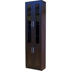 Книжный шкаф Шарм-Дизайн Симфония-2 60x30x220 венге
