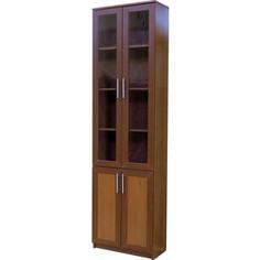 Книжный шкаф Шарм-Дизайн Симфония-2 60x30x220 орех