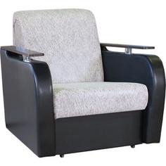 Кресло кровать Шарм-Дизайн Гранд Д замша бежевый