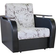 Кресло кровать Шарм-Дизайн Гранд Д замша белый