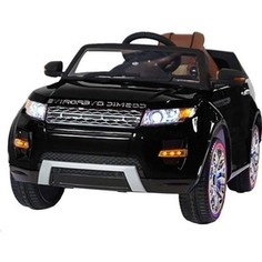 Электромобиль Hollicy Range Rover Luxury Black 12V - SX118-S