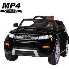 Электромобиль Hollicy Range Rover Luxury Black MP4 12V - SX118-S
