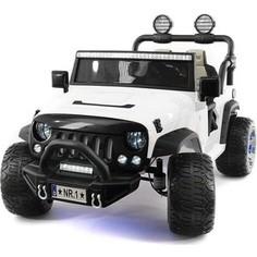 Электромобиль Hollicy Jeep Wrangler White 2WD - SX1718-S